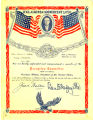 Certificate to Cyrus S. Avery, dated September 11, 1919