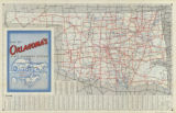 Map of Oklahoma's State Highway System
