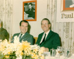 Paul Miller with President Richard M. Nixon at the
